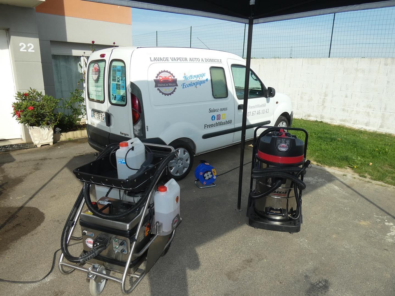 Nettoyage automobile à domicile à Montataire