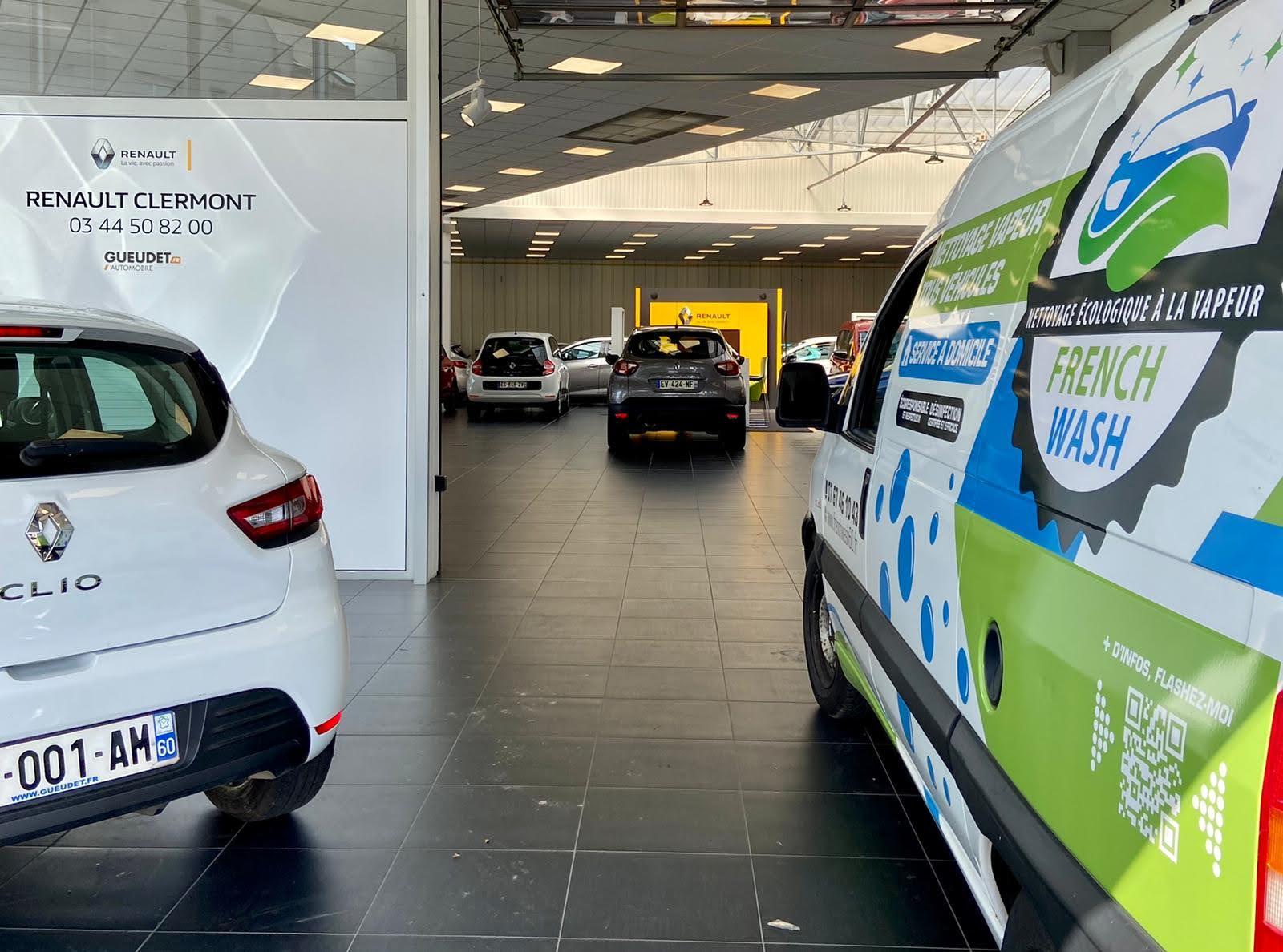 Nettoyage automobile pour professionnels à Montataire